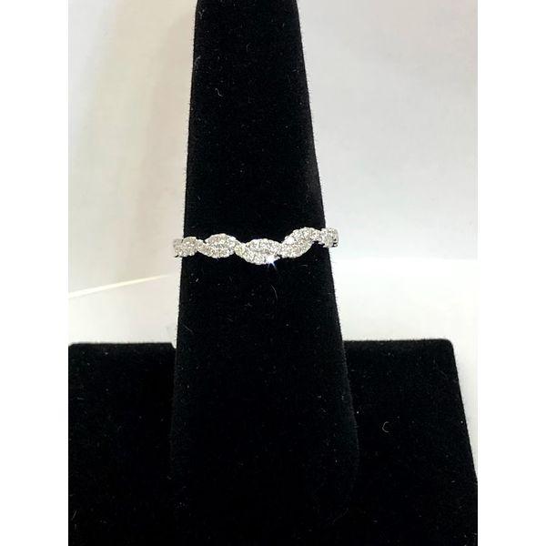 Twisted diamond wedding band Jerald Jewelers Latrobe, PA