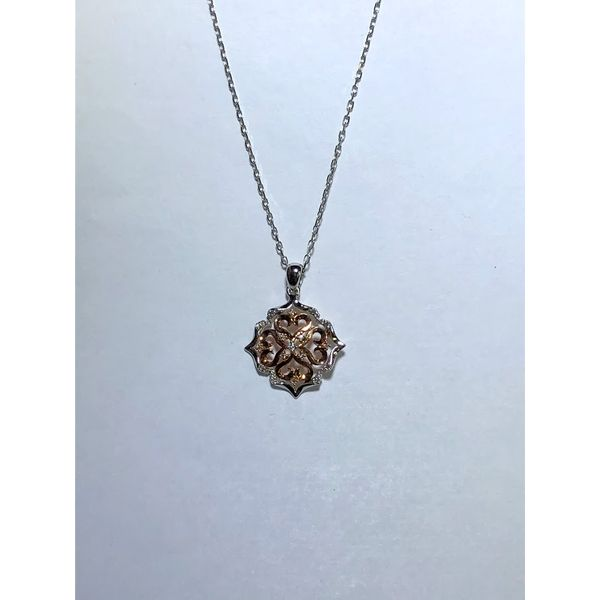 Floral Diamond Pendant Jerald Jewelers Latrobe, PA