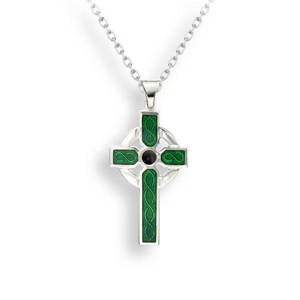 GREEN CELTIC CROSS Jerald Jewelers Latrobe, PA