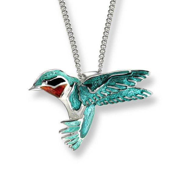 GREEN HUMMINGBIRD NECKLACE Jerald Jewelers Latrobe, PA