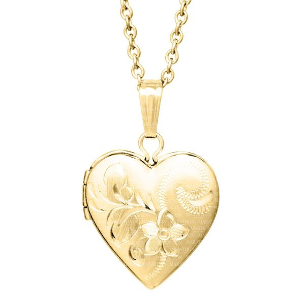 14K GF CHILDRENS LOCKET Jerald Jewelers Latrobe, PA