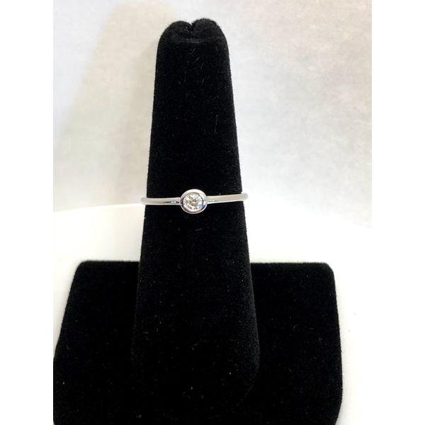 BEZEL DIAMOND RING Jerald Jewelers Latrobe, PA