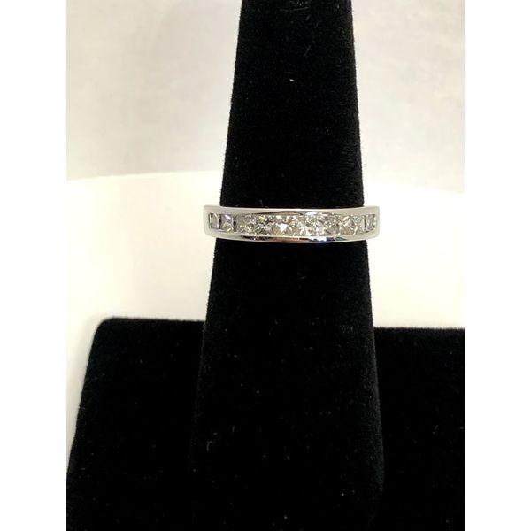 PRINCESS CUT CHANNEL BAND Jerald Jewelers Latrobe, PA