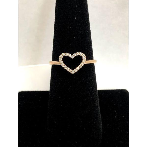 OPEN HEART RING Jerald Jewelers Latrobe, PA
