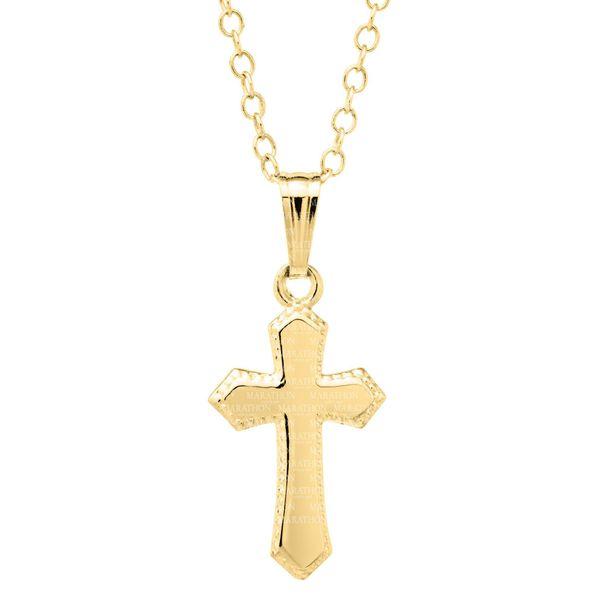 CHILDRENS 14K GF CROSS Jerald Jewelers Latrobe, PA