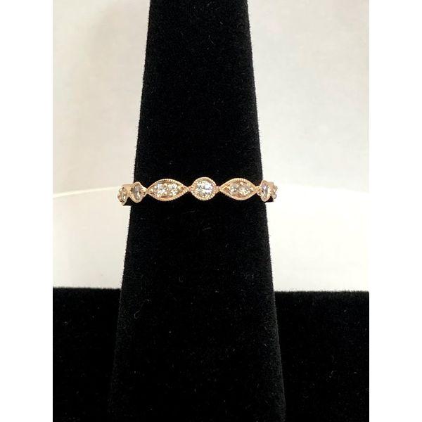 14K ROSE DIAMOND BAND Jerald Jewelers Latrobe, PA
