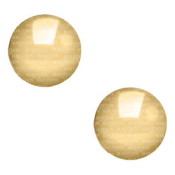 14K 4MM GOLD CHILDRENS BALL EARRINGS Jerald Jewelers Latrobe, PA