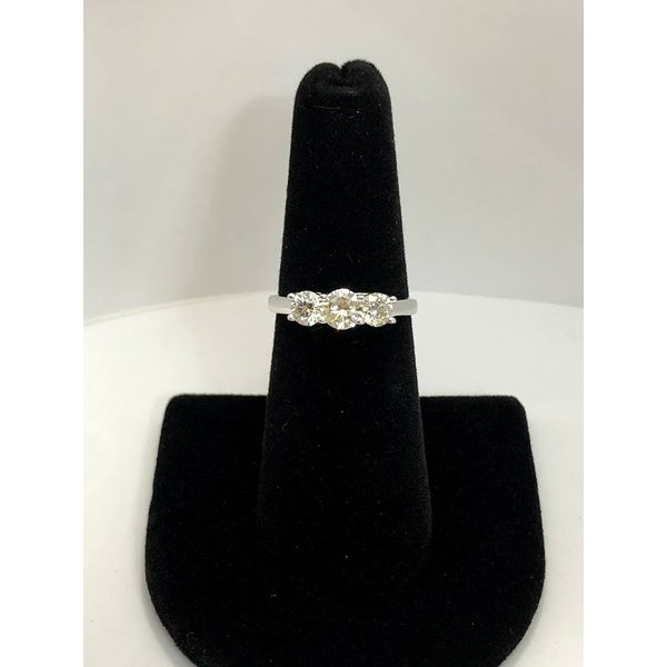 THREE STONE RING Jerald Jewelers Latrobe, PA