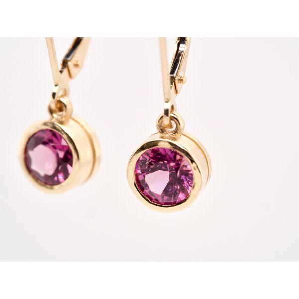 Grape Garnet Earrings  Image 3 Portsches Fine Jewelry Boise, ID