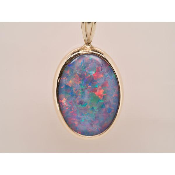 Australian Opal Pendant Necklace  Portsches Fine Jewelry Boise, ID