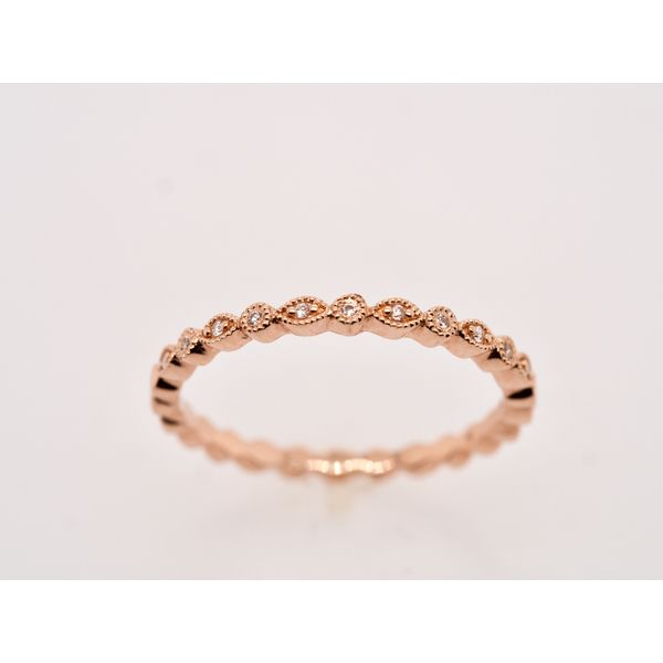 Marquise and Round Stackable Ring  Portsches Fine Jewelry Boise, ID