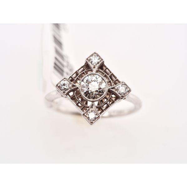 1920's Art Deco Diamond Ring  Portsches Fine Jewelry Boise, ID