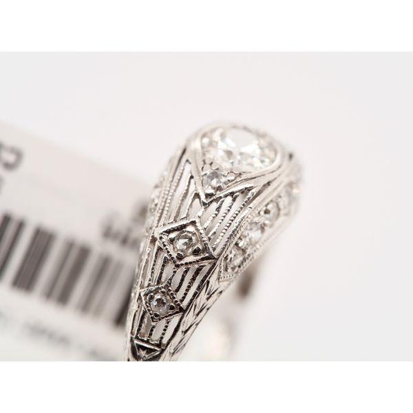 Edwardian Engagement Ring  Image 4 Portsches Fine Jewelry Boise, ID