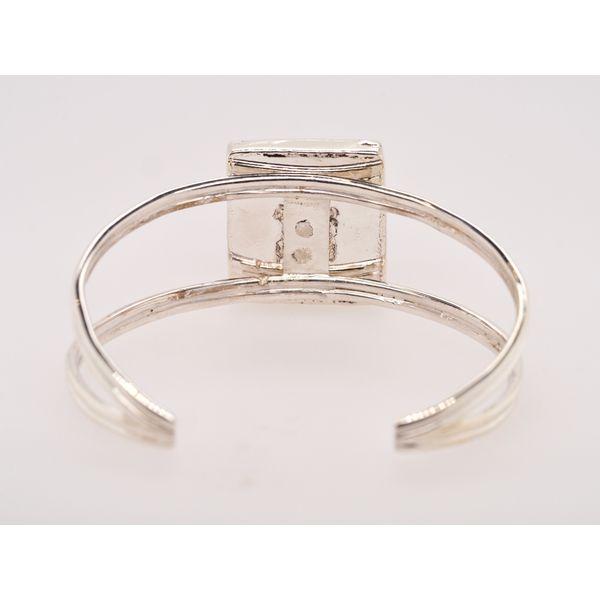 Agate Sterling Silver Cuff Bracelet  Image 3 Portsches Fine Jewelry Boise, ID