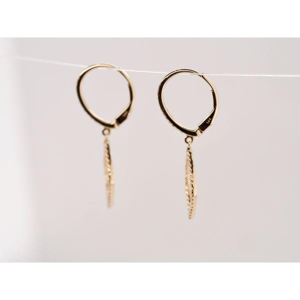 Teardrop Diamond Earrings  Image 2 Portsches Fine Jewelry Boise, ID