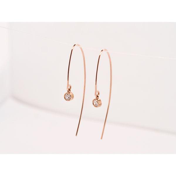 Open Hoop Diamond Earrings  Portsches Fine Jewelry Boise, ID