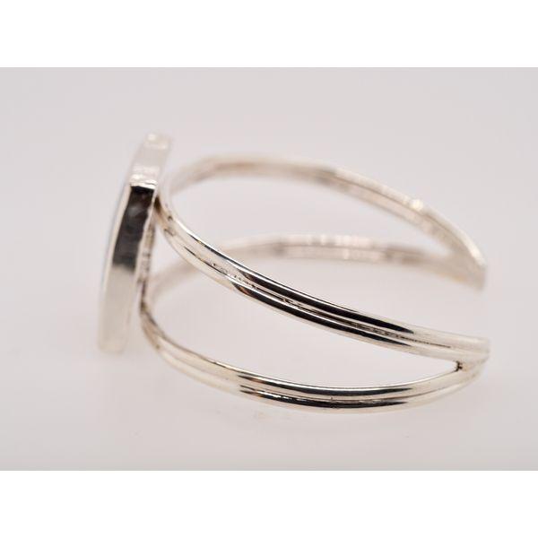 Agate Sterling Silver Cuff Bracelet  Image 2 Portsches Fine Jewelry Boise, ID