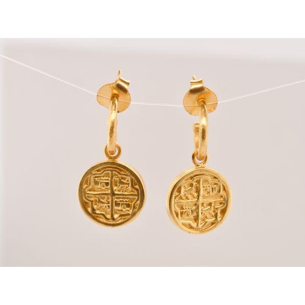 Valencia Hoop & Charm Earring Portsches Fine Jewelry Boise, ID