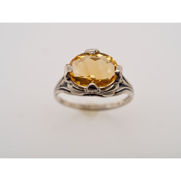 Citrine Silver Ring  Portsches Fine Jewelry Boise, ID