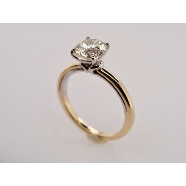 Two Tone 2.02ct Solitaire Engagement Ring Portsches Fine Jewelry Boise, ID