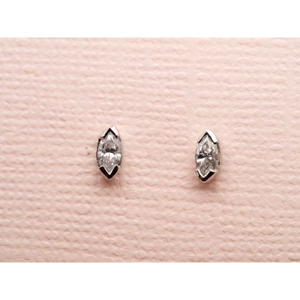 Marquise Diamond Studs  Portsches Fine Jewelry Boise, ID
