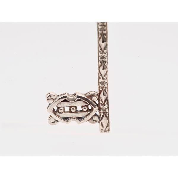 Hugo Kohl Silver Key Pendant  Image 3 Portsches Fine Jewelry Boise, ID