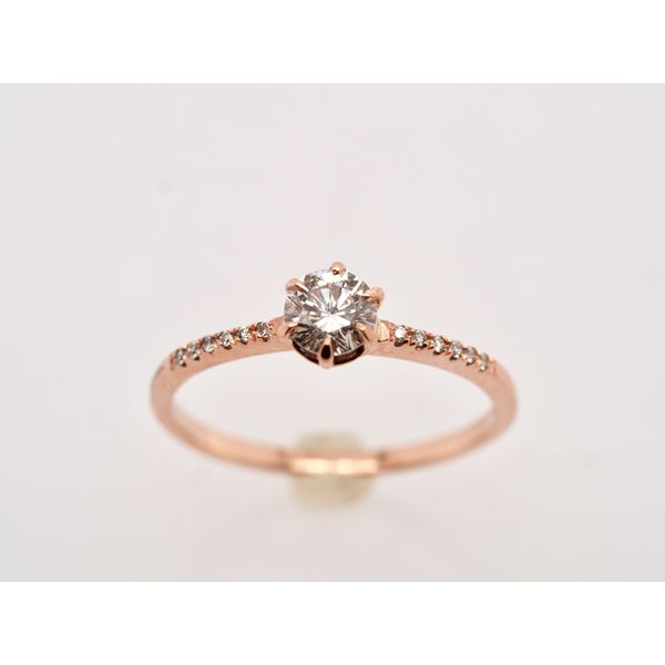 Dainty Rose Gold Ring Portsches Fine Jewelry Boise, ID
