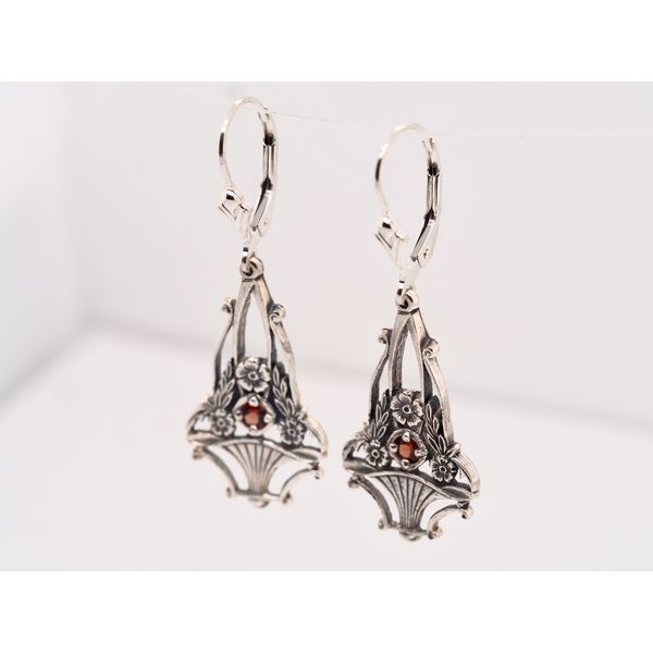 ER008 Bouquet of Dogwood Blossoms Earrings Image 3 Portsches Fine Jewelry Boise, ID