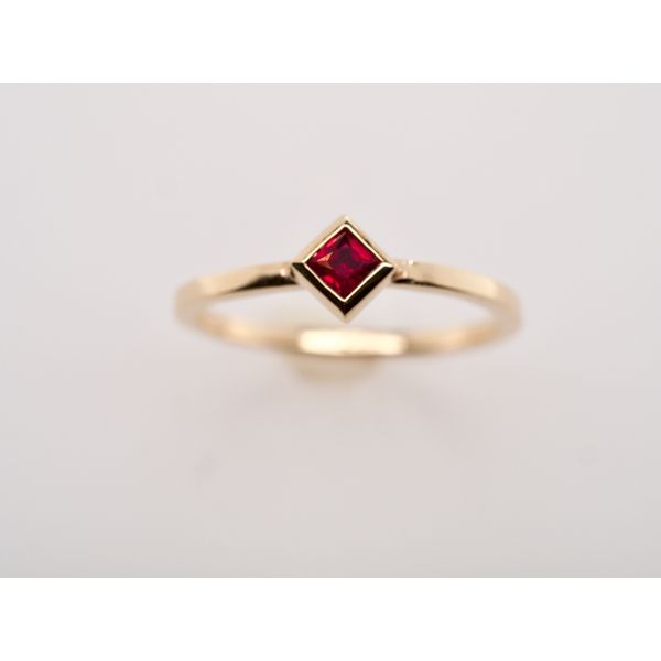 Ruby Gold Stacking Ring  Portsches Fine Jewelry Boise, ID