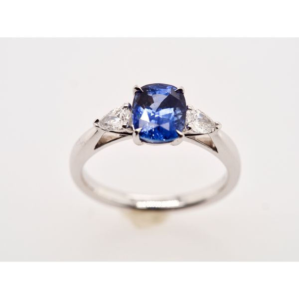 Sapphire and Diamond Ring Portsches Fine Jewelry Boise, ID