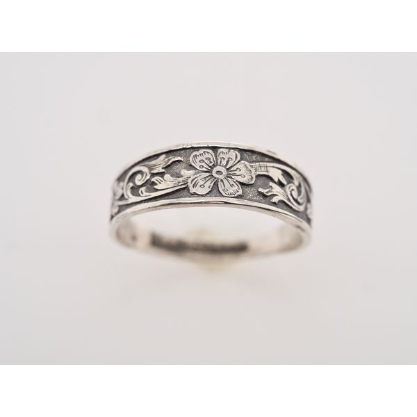 CB005 Cigar Band Ring Portsches Fine Jewelry Boise, ID
