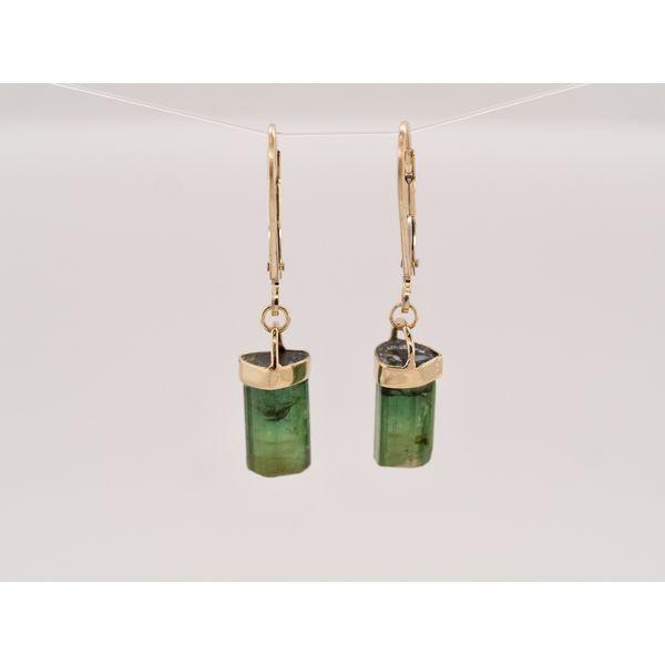 Green Tourmaline Gold Earrings Portsches Fine Jewelry Boise, ID