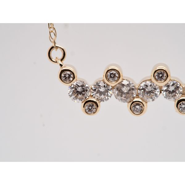 Zig Zag Diamond Necklace  Image 2 Portsches Fine Jewelry Boise, ID