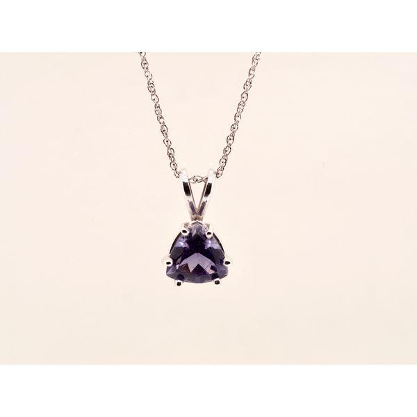 Tanzanite Trillion Pendant  Portsches Fine Jewelry Boise, ID