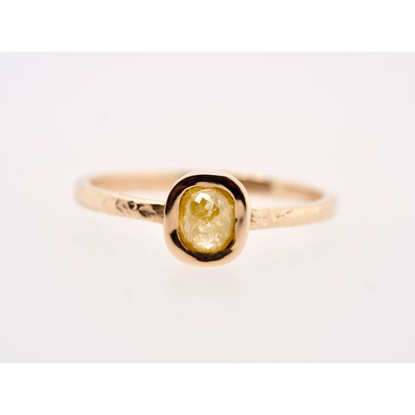 Rose Cut Diamond Stacking Ring  Image 3 Portsches Fine Jewelry Boise, ID