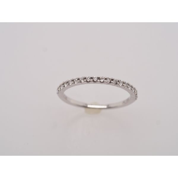 Simple Half Eternity Pave Band  Portsches Fine Jewelry Boise, ID