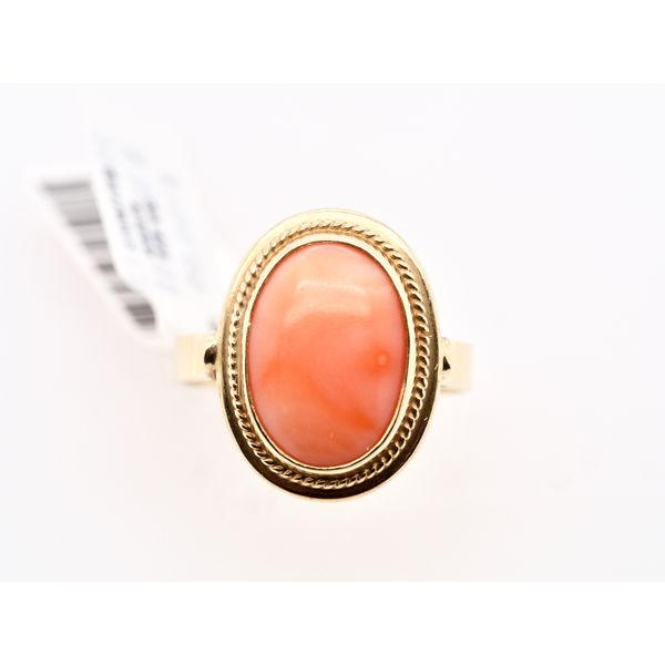 Coral Gold Ring  Portsches Fine Jewelry Boise, ID