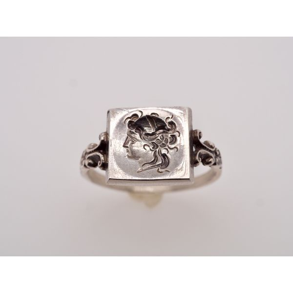 Square Goddess Head Whismy Ring  Portsches Fine Jewelry Boise, ID