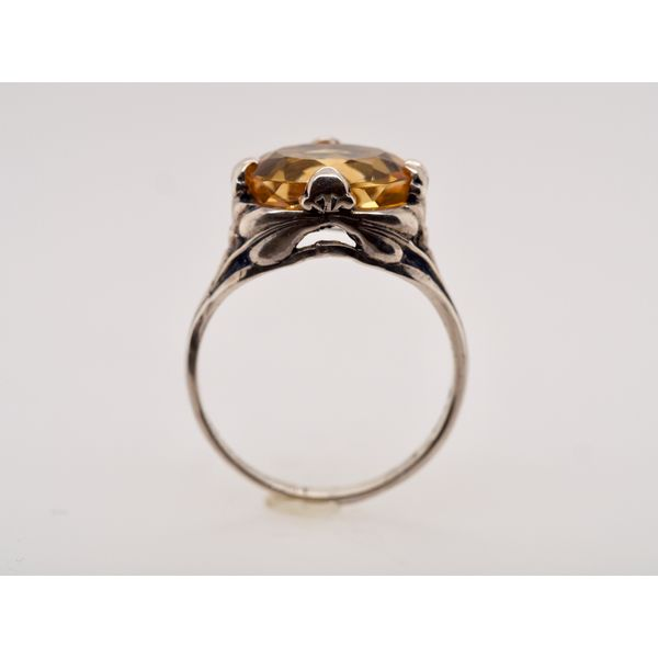 Citrine Silver Ring  Image 2 Portsches Fine Jewelry Boise, ID
