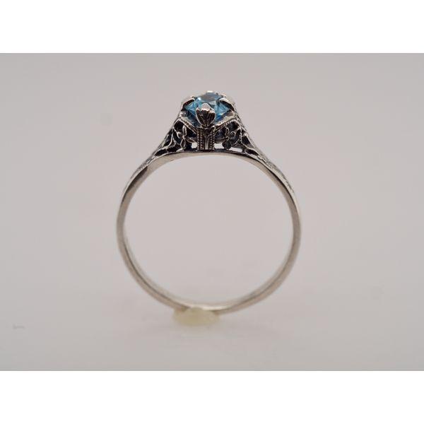 OV008 Topaz Silver Ring Image 2 Portsches Fine Jewelry Boise, ID