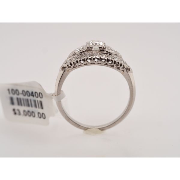 1930's Vintage Marquise Shape Diamond Ring  Image 2 Portsches Fine Jewelry Boise, ID