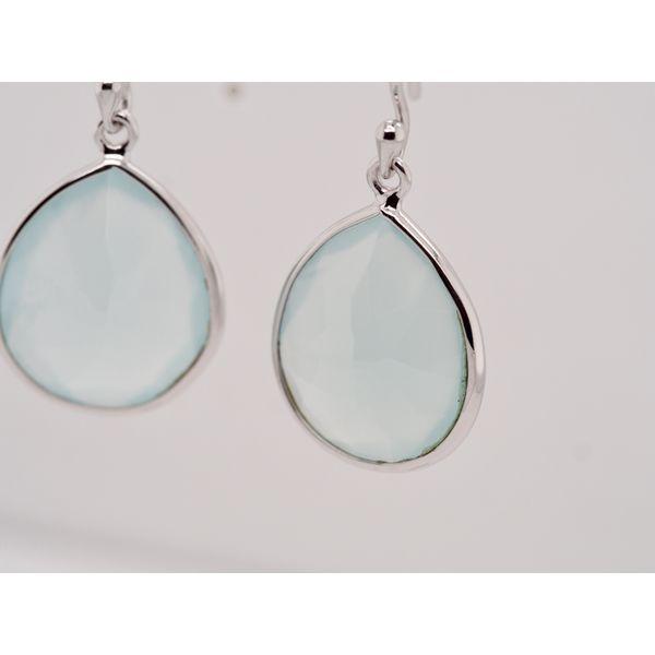 Aqua Chalcedony Drops  Image 2 Portsches Fine Jewelry Boise, ID