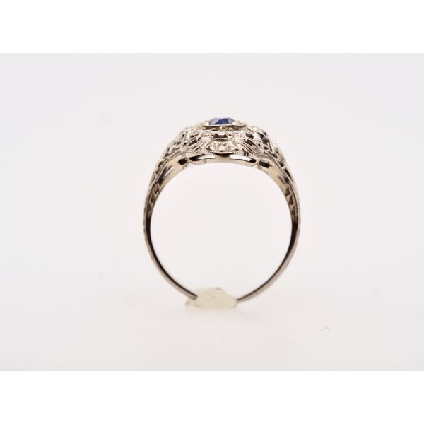 1930's Filigree Ring  Image 2 Portsches Fine Jewelry Boise, ID