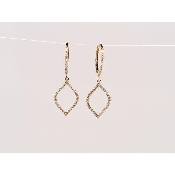 Teardrop Diamond Earrings  Portsches Fine Jewelry Boise, ID