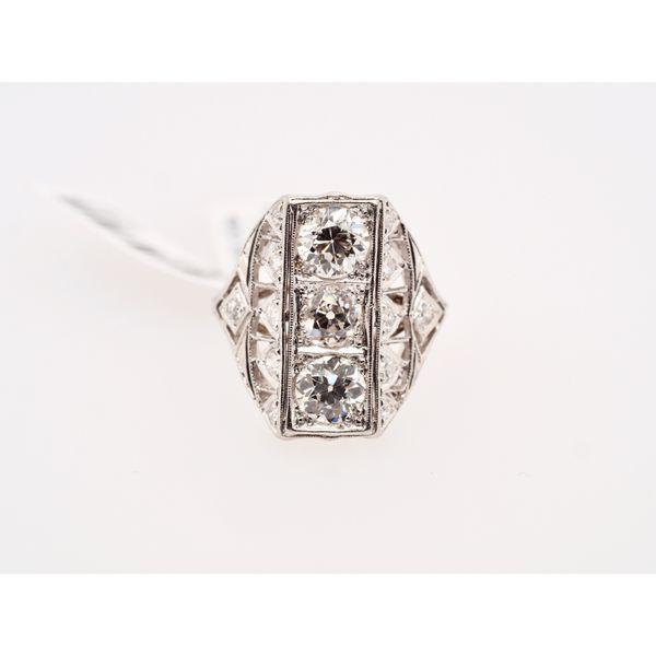 Rectangle Diamond Ring 2CT CTW Portsches Fine Jewelry Boise, ID
