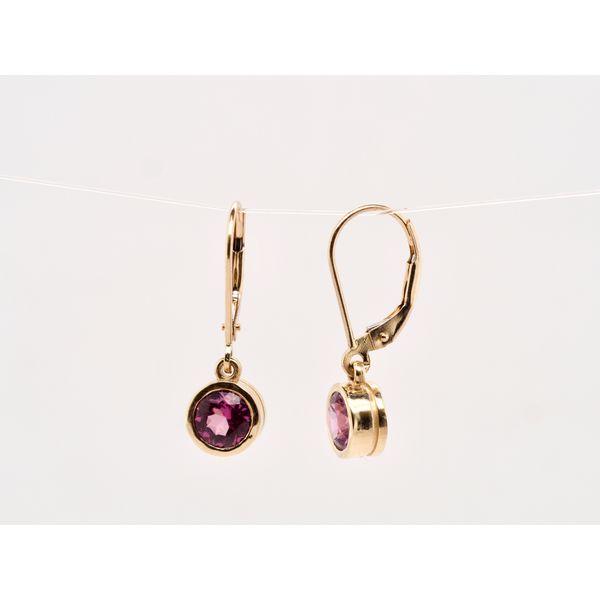 Grape Garnet Earrings  Image 2 Portsches Fine Jewelry Boise, ID