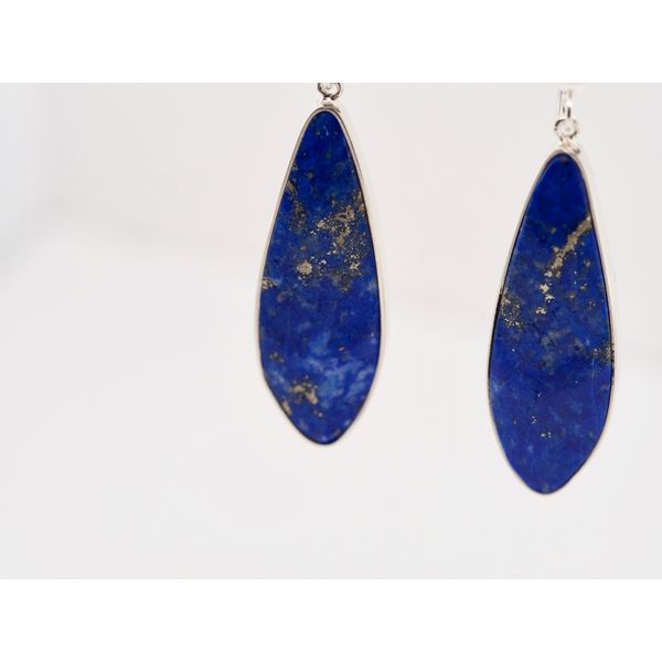 Lapis Dangle Earrings Image 2 Portsches Fine Jewelry Boise, ID