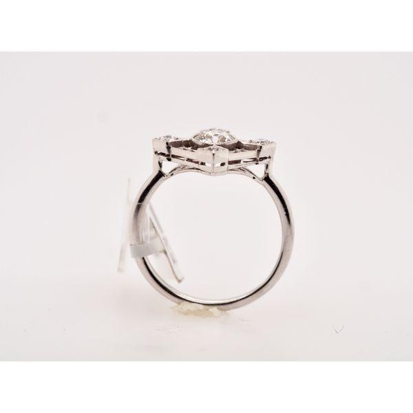 1920's Art Deco Diamond Ring  Image 2 Portsches Fine Jewelry Boise, ID