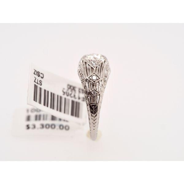 Edwardian Engagement Ring  Image 3 Portsches Fine Jewelry Boise, ID