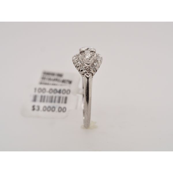 1930's Vintage Marquise Shape Diamond Ring  Image 3 Portsches Fine Jewelry Boise, ID